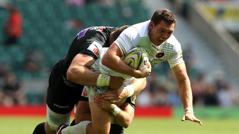 Alex Goode was directly involved in Saracens crucial first three scores in an eye-catching dispay