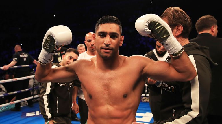 Amir Khan remains keen to face British rival Kell Brook