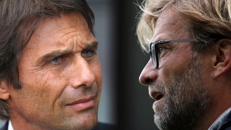 Antonio Conte's Chelsea must hope Jurgen Klopp's Liverpool are beaten