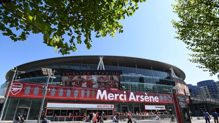 'Merci Arsene' was the message across The Emirates on Sunday