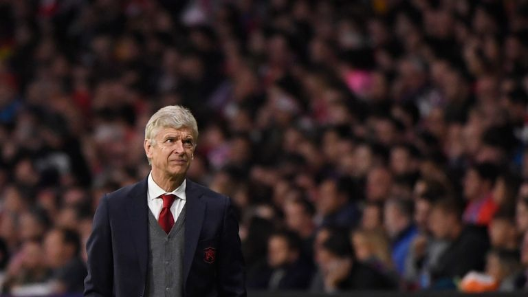 Arsene Wenger will leave Arsenal without a European trophy