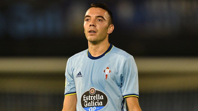 Iago Aspas has had an impressive campaign with Celta Vigo