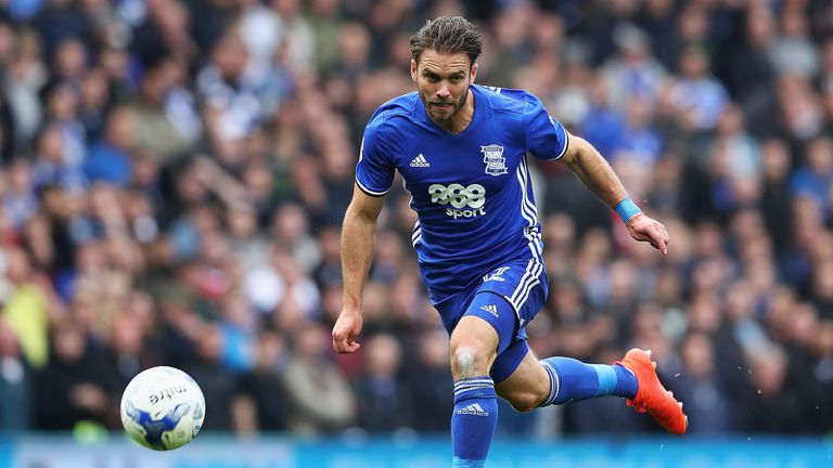 Rhoys Wiggins has not played since injuring his knee while on loan at Birmingham in October 2016