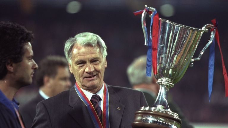 Bobby Robson picked up a lot of silverware in the 1996-97 season