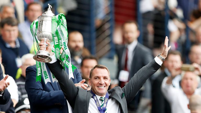 during the Scottish Cup Final between Motherwell and Celtic at Hampden Park on May 19, 2018 in Glasgow, Scotland.
