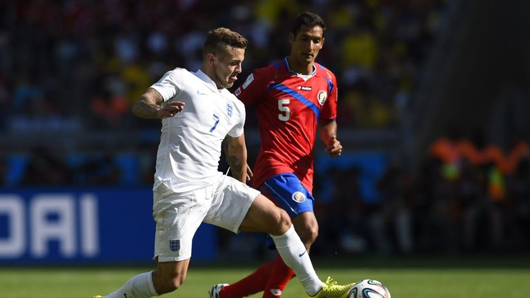 Celso Borges and Costa Rica finished above England in their 2014 World Cup group