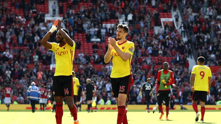 Nathaniel Chalobah made his Watford return against Manchester United on Sunday