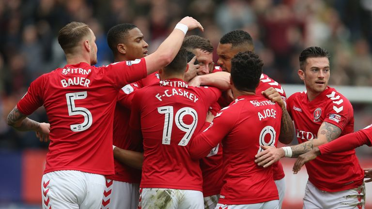 Charlton face Shrewsbury for a place at Wembley