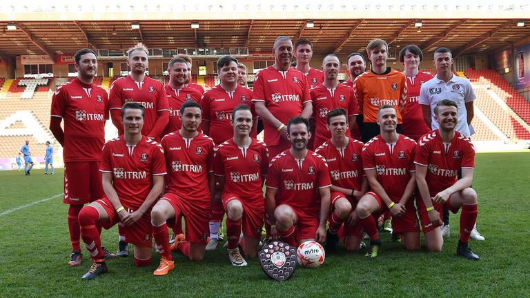 Charlton Invicta FC are champions of the London Unity League
