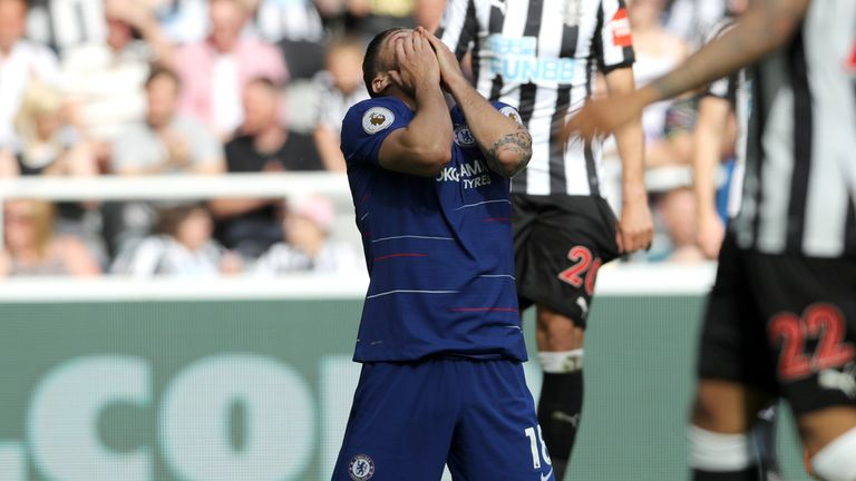 Chelsea put in an abject performance at Newcastle as they finished fifth in the Premier League