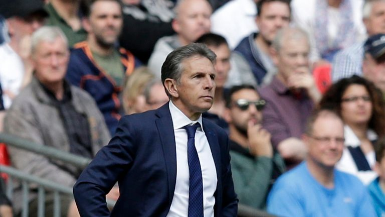 Puel is determined to keep hold of Schmeichel