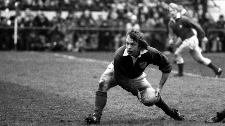 Scrum-half Colin Patterson scored two tries in a startling first Test win in Brisbane