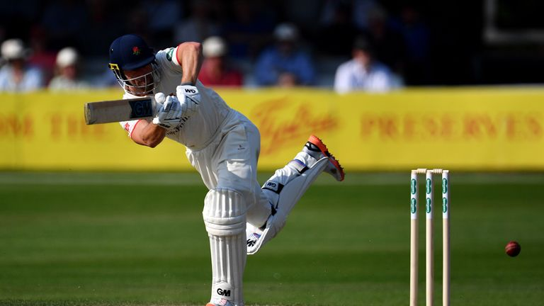 Dane Vilas has an average of 46.50 from 11 Championship matches for Lancashire this season