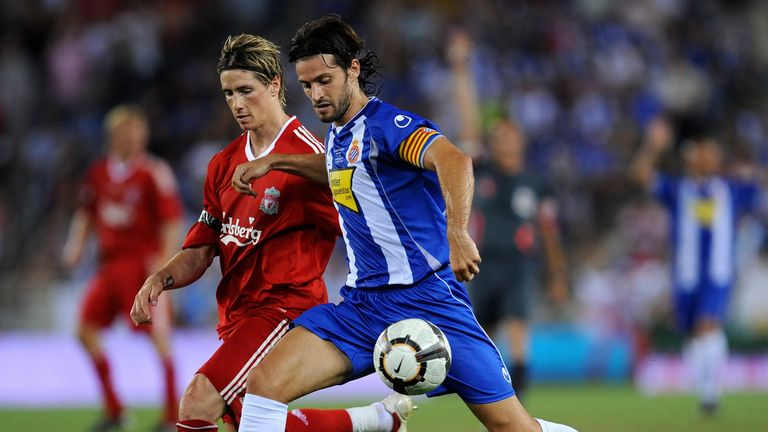 Dani Jarque in action for Espanyol