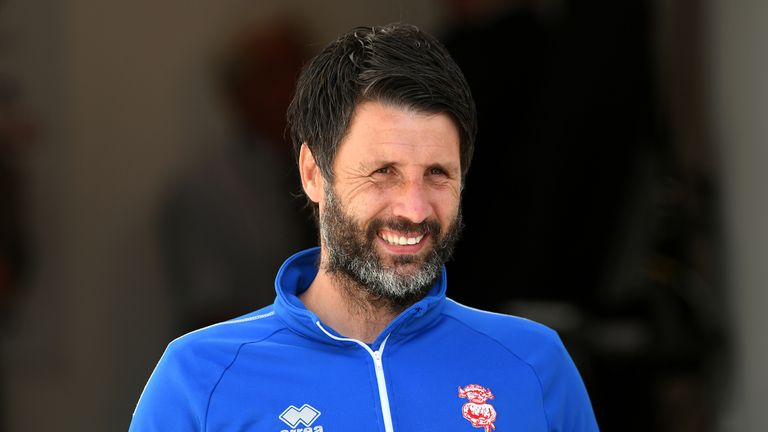 Lincoln boss Danny Cowley