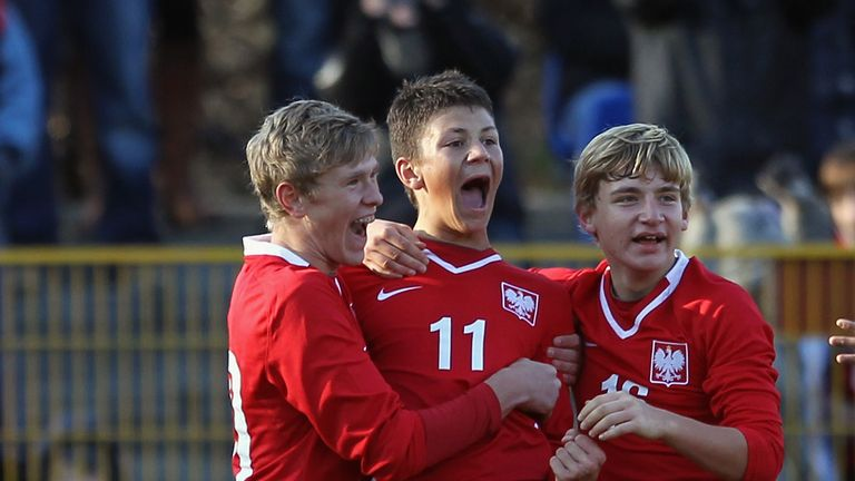 Kownacki first emerged as a huge prospect for Poland's under-15 side