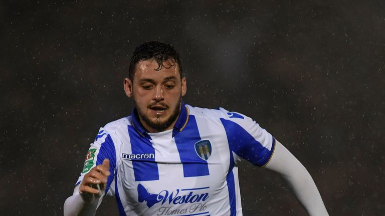 Drey Wright is leaving Colchester to join St Johnstone