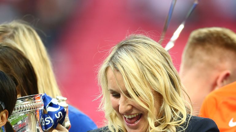 Chelsea ladies manager Emma Hayes has given birth to a baby boy