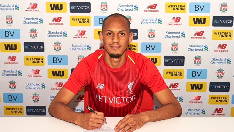 Liverpool sign Fabinho in £43 7m deal from Monaco   Football