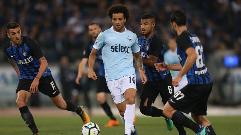 West Ham are close to completing a club-record deal for Felipe Anderson