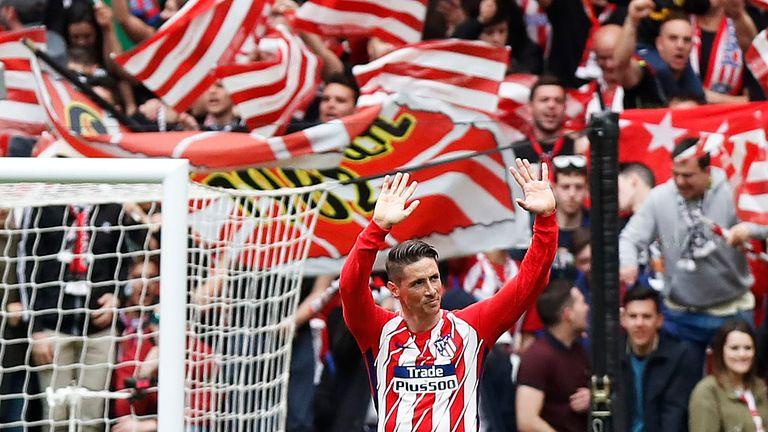 Fernando Torres retired from playing in 2018 after emotional return to boyhood club Atletico Madrid