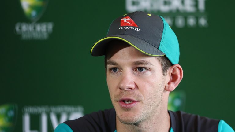 Tim Paine say Australia want to lay down a marker ahead of next year's World Cup