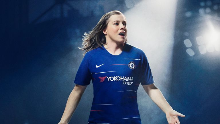 Chelsea unveil new home kit for 2018/19 season | Football News | Sky