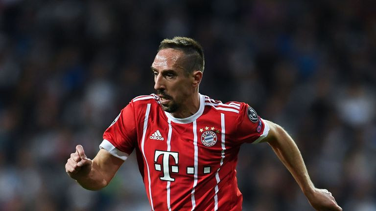 Bayern winger Franck Ribery has been involved in an altercation with a journalist