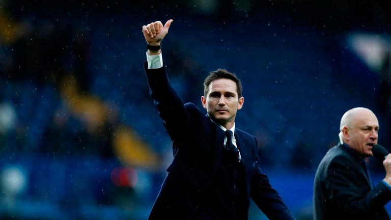 Frank Lampard will take his Derby side to Oldham