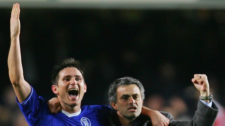 Frank Lampard says he learned from the very best