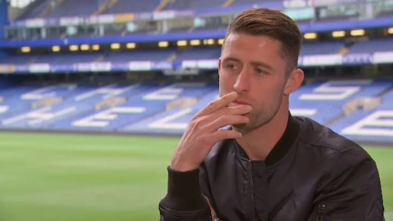 Cahill has featured in Chelsea's last four league games