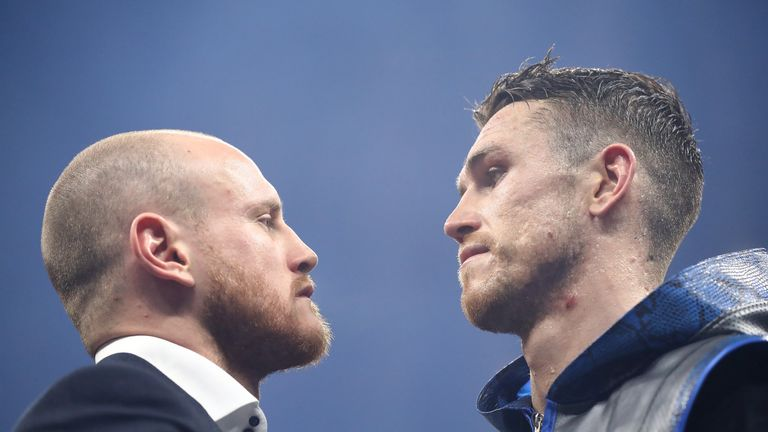 George Groves and Callum Smith will face each other in Saudi Arabia in September
