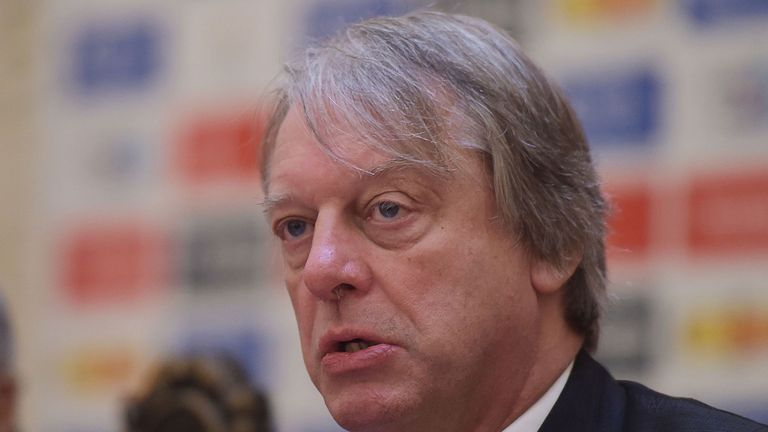 Giles Clarke first joined the ECB as non-executive director 14 years ago