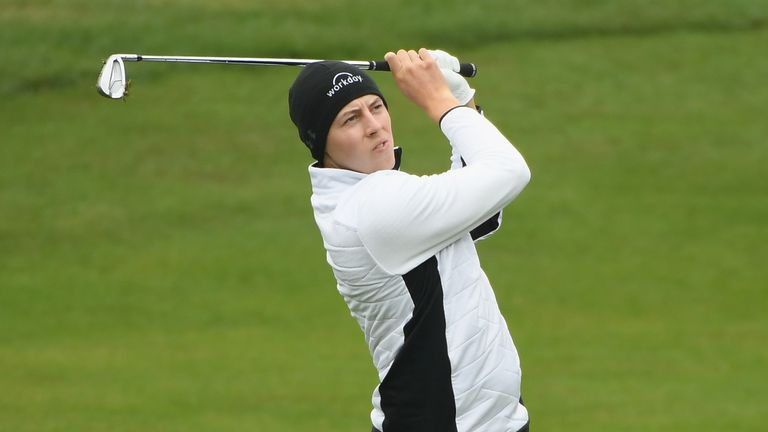 Matt Fitzpatrick coped well with the conditions as he fired a 67