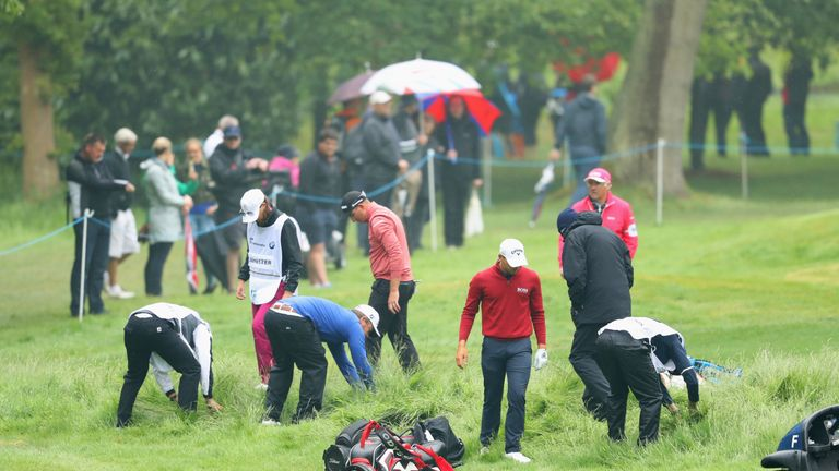 Wet weather makes it imperative to avoid the rough at Wentworth