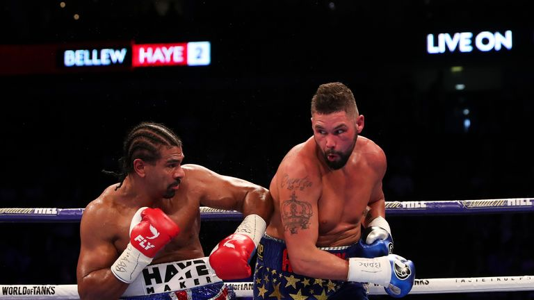 Bellew repeated his win over Haye