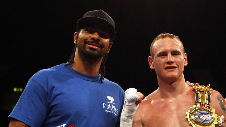 George Groves has urged friend Haye not to fight again