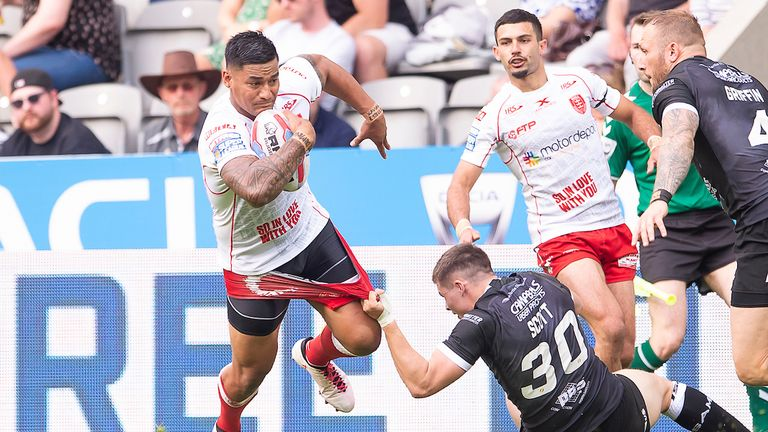 Hull KR put five tries past London Broncos in Round 5 of the Super 8s Qualifiers