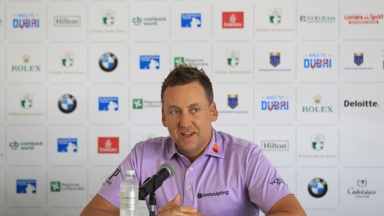 Poulter spoke to the media in a pre-tournament press conference on Wednesday
