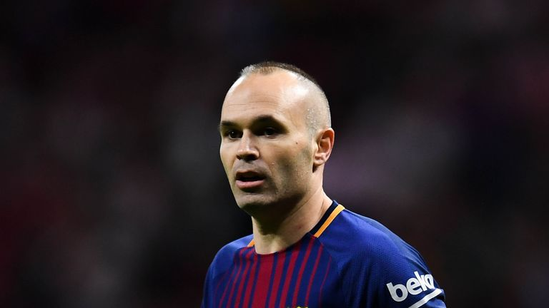 Andres Iniesta is set to leave Barcelona this summer