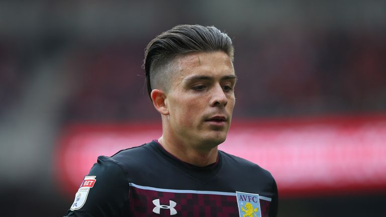 Leicester are considering a bid for Aston Villa's Jack Grealish