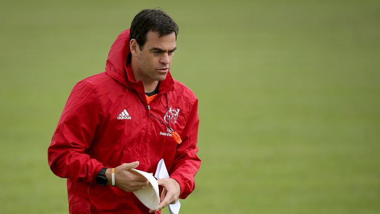Johann van Graan's Munster lost 15-16 to Leinster in the semi-finals last season
