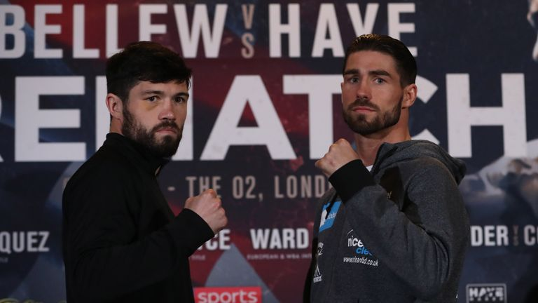 Jamie Cox (R) meets John Ryder having suffered defeat to George Groves last time out