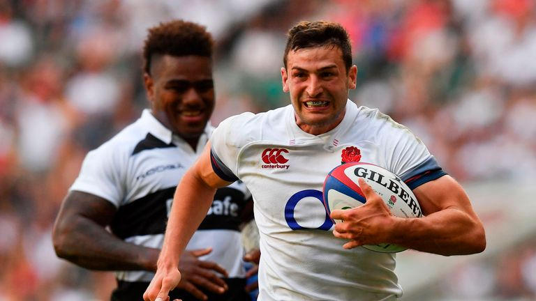 Jonny May scored late on but it mattered not for the Baa-Baas