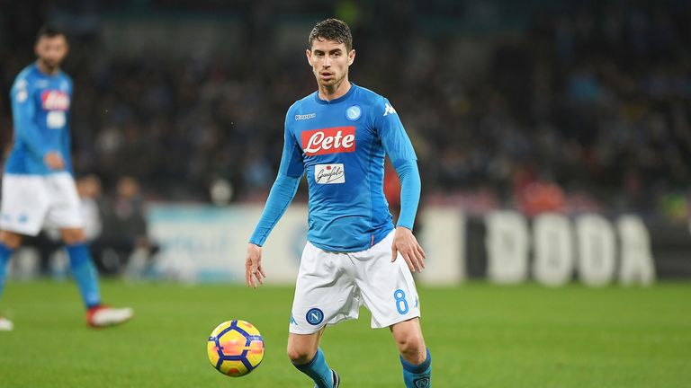 Man City are keen on signing Napoli midfielder Jorginho