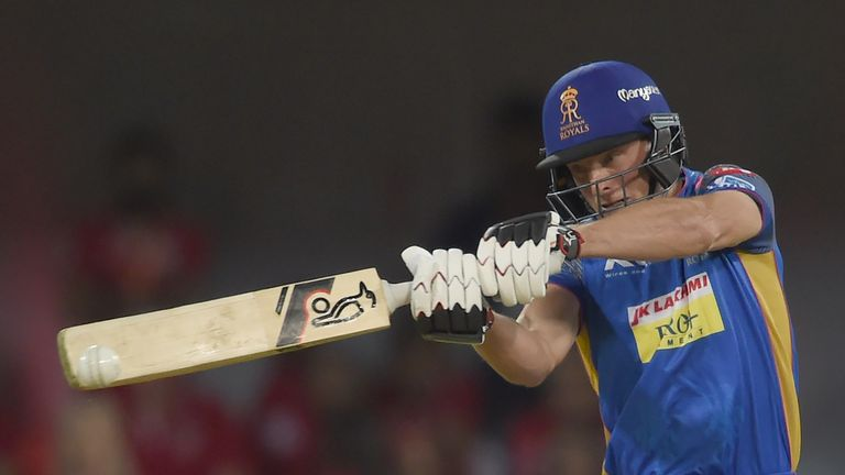 Jos Buttler has slammed back-to-back fifties for Rajasthan Royals since being promoted to open (Credit: AFP)