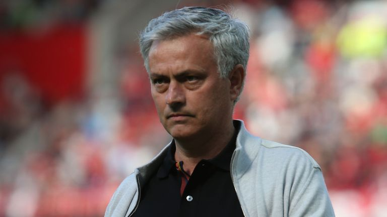 Jose Mourinho's Man Utd came second to rivals Man City