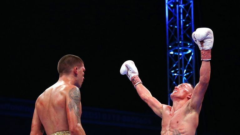 Selby surrendered his IBF belt to Warrington