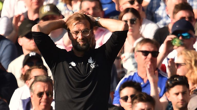 Klopp says Liverpool were not clinical enough against Chelsea