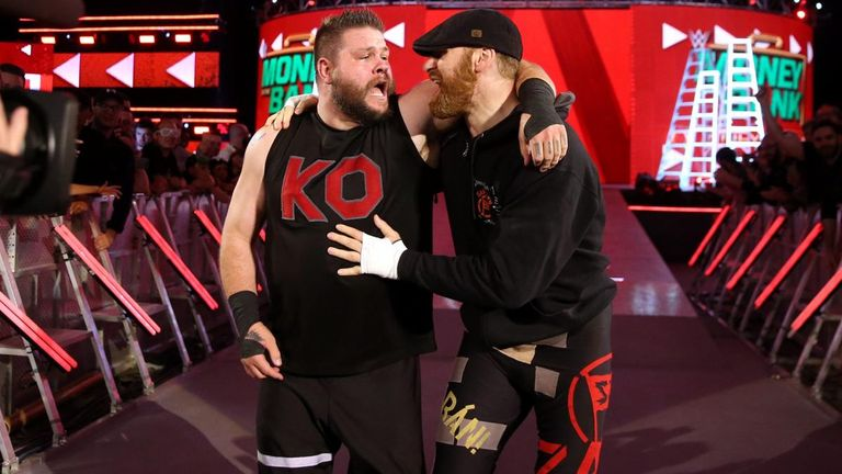 Sami Zayn gave Kevin Owens a big helping hand in his Money In The Bank qualifying match